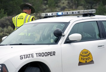 State Trooper Police Car