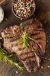 Grilled BBQ T-Bone Steak