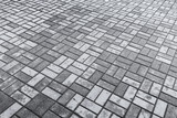 Fototapety Background texture of gray modern cobblestone road