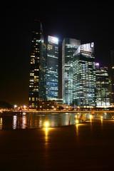 Marina Bay Financial Center Singapore, Night potrait