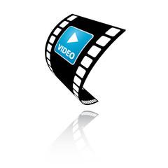 Video Vektor Filmstreifen