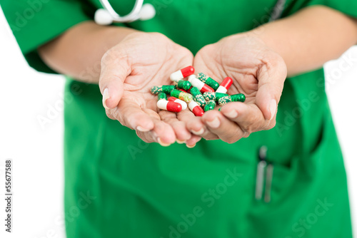 Take pills and be healthy!