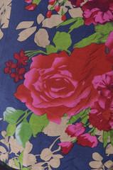 Cheongsam flower fabric texture,