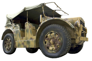 military wheeled tractor