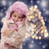 Weihnachtliches Portrait