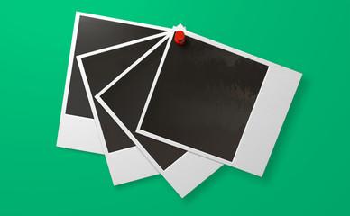 Polaroid And Pushpin Array Front