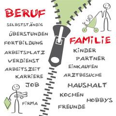 Beruf und Familie, Vereinbarkeit
