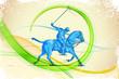 Polo Horse Player - 55682117