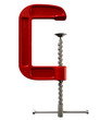 Red Clamp Tool Front