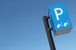 Schild an einem Parkscheinautomat in den Niederlanden