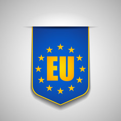 Europe flag tag