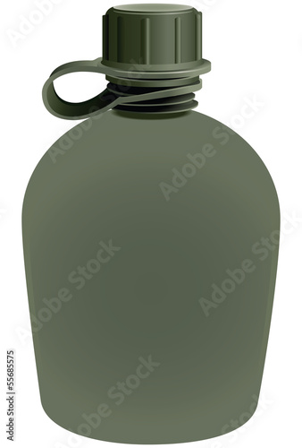 Boot Flask for water