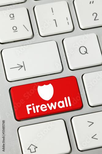 Firewall keyboard key