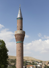 minaret in Konya, Turkey