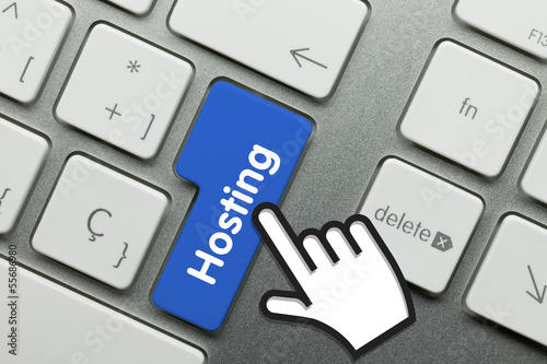 canvas print picture Hosting keyboard