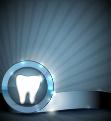 Dental sign, brochure design.
