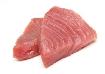 Raw Tuna Fish Steaks