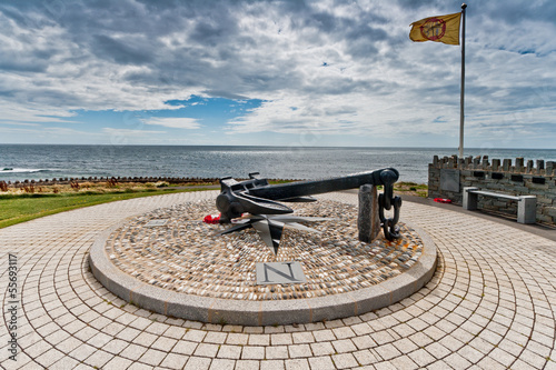 Dunkirk memorial at Port St. Mary in the Isle of Man.