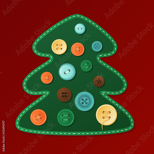 Christmas Tree with buttons