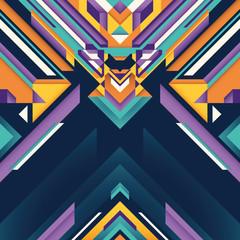 Futuristic abstraction.