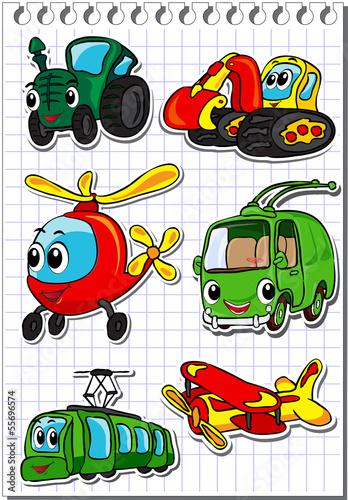 Set of transportation 2 - 55696574