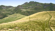 Alpine mountaintop