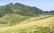 Mountain trail on the plateau