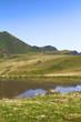Lake on an alpine plateau