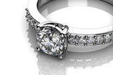 The beauty wedding ring - 55700763
