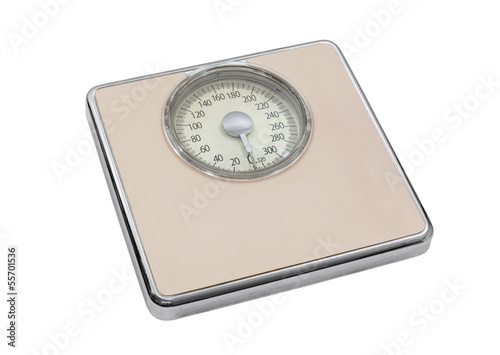 Vintage Pink bathroom Scale