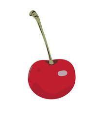 Cherry red.