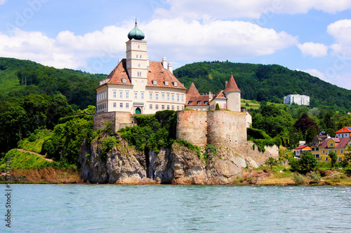 Schonbuhel Castle along the Danube, Wachau Valley, Austria