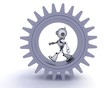 Robot gears concept