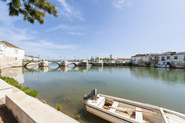 Roman Bridge in Tavira Portugal