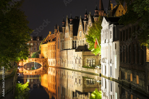 Canal Houses Bruges