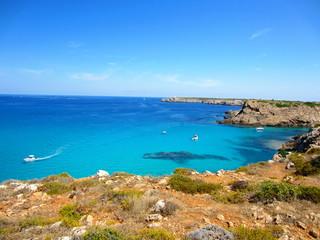 costa norte de Menorca
