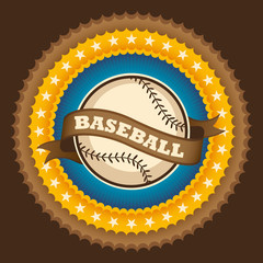 Baseball badge.