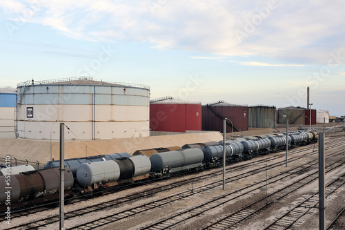 Trains tanker