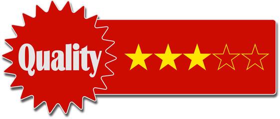 Quality 3 Stars Qualität 3 Sterne icon