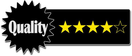 Qualität Quality 4 Sterne Stars