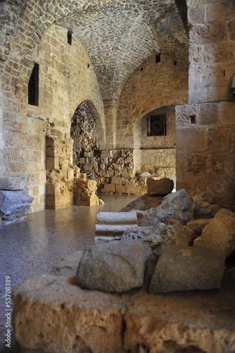 Knights Halls in Acre, Israel