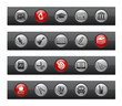 School and Education -- Button Bar Series