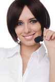 Call Center Girl Headshot