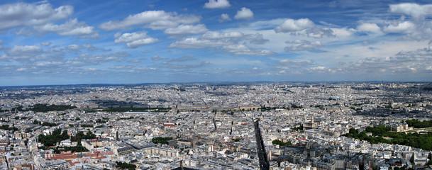 Panorama de Paris rive gauche