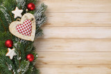 Weihnachtliches auf Holz