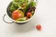 Ensalada de lechuga y tomates