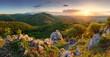 peak in sunset - Slovakia mountain