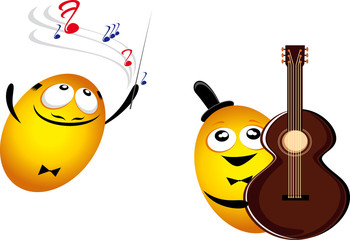 music emoticons