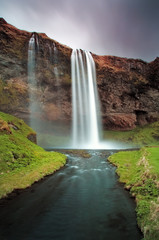 Iceland waterfall - Seljalandsfoss