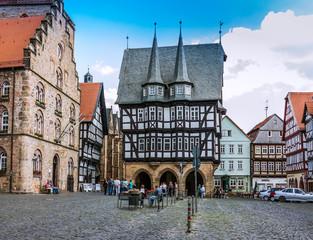 Altstadt in Alsfeld, Deutschland